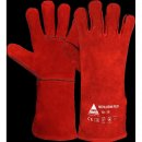 Welding gloves Muehlheim red