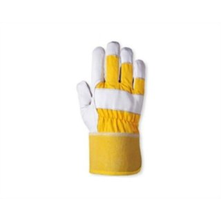 Docker gloves Madeira (yellow / nature white)