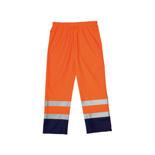 Regenhose Harbor (fluoreszierendes orange / marineblau)