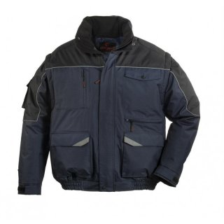 Multi pocket Ristop jacket (navy / black) XXL