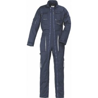 Overall Navy 2 Zip (navy / grey) S