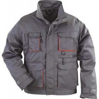 Jacket Paddock (grey / orange) L