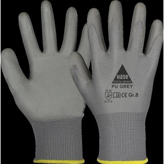 Assembling gloves PU Grey