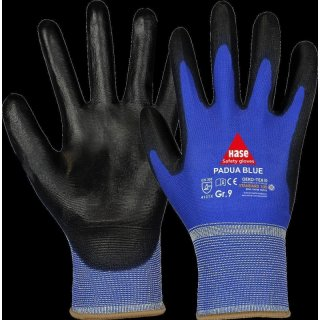 Assembling gloves Padua Blue