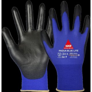 Assembling gloves Padua Blue Lite
