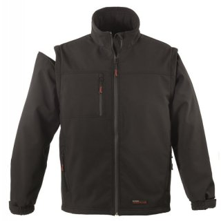 Softshell jacket Yang (2 in 1) (black) XXXL