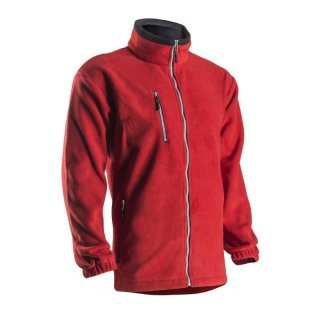 Fleece jacket Angara (red) L